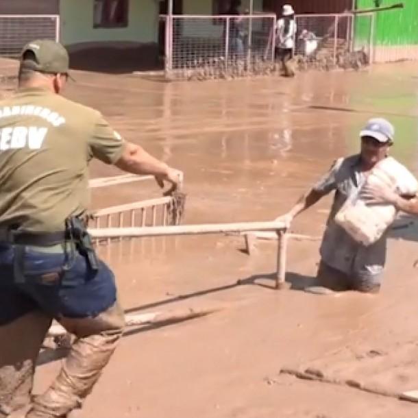 Sernageomín advierte posibles aluviones por evento meteorológico en el norte del país