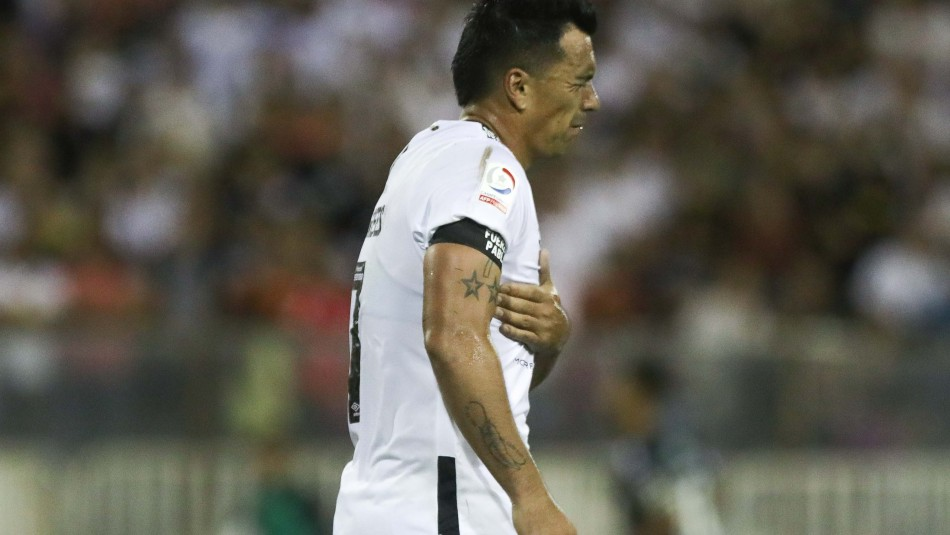 Esteban Paredes será baja por al menos seis semanas en Colo Colo
