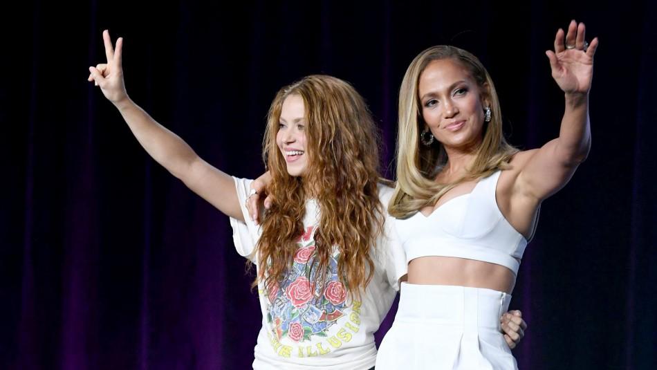 Así se preparan Jennifer Lopez y Shakira para el Super Bowl