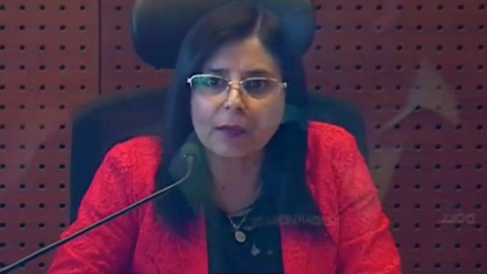 Poder Judicial condena amenazas contra jueza Acevedo y confirma que se encuentra con resguardo policial