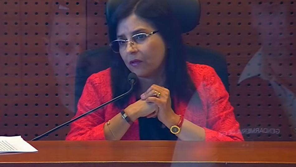 Corte Suprema condena protesta en domicilio de jueza Acevedo: