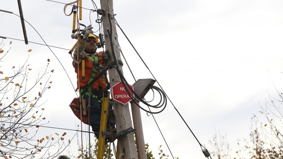 Enel explica corte de luz en sectores de la capital: Se debe a