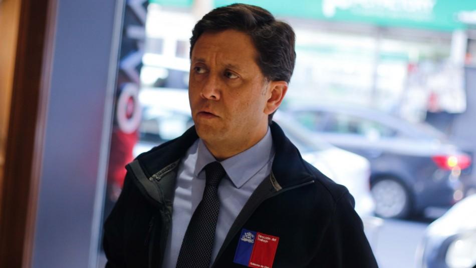 Gobierno acepta renuncia de Mauricio Peñaloza a la Dirección del Trabajo