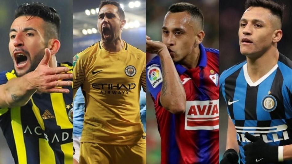 De Claudio Bravo a Alexis Sánchez: Los cambios de club de los seleccionados chilenos