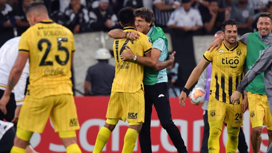Guaraní elimina a Corinthians y se transforma en el rival de Palestino en la Copa Libertadores