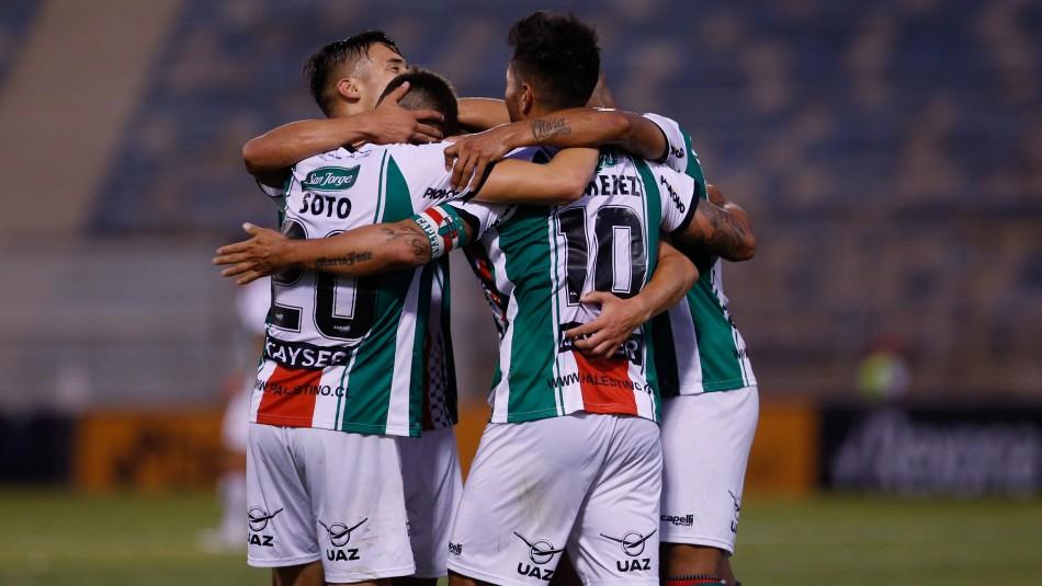 Palestino golea a Cerro Largo y sueña con alcanzar la fase de grupos de Copa Libertadores