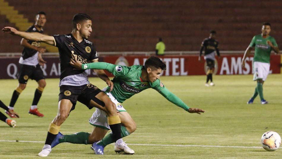 Audax Italiano cae ante Cusco FC y se complica en la Copa Sudamericana