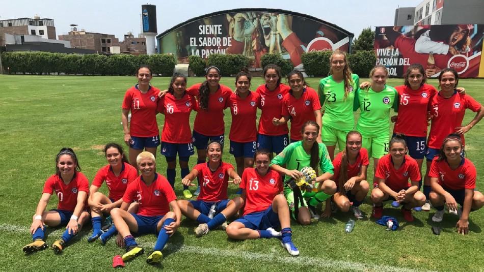 Selección Chilena Femenina lista para Sudamericano Sub 20.