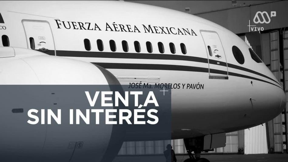 ¿Por qué no se ha podido vender el avión presidencial mexicano?