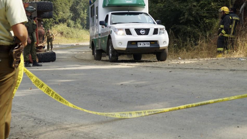 Tres víctimas fatales dejó un accidente de tránsito en Puyehue