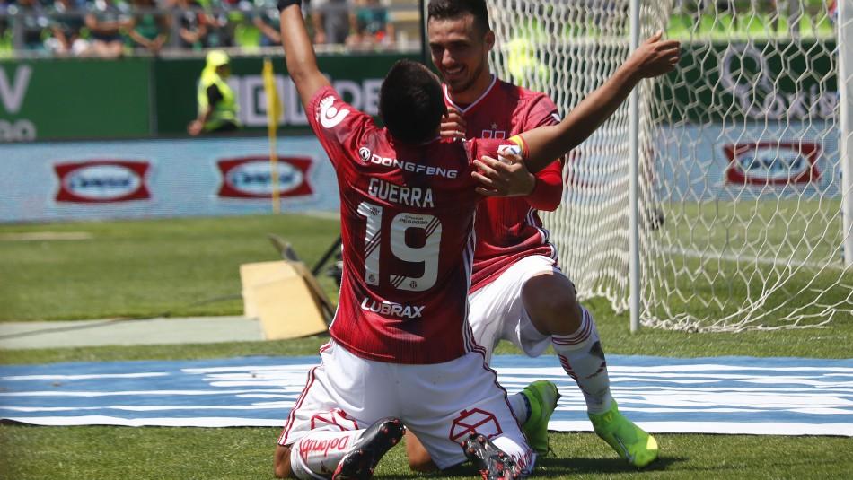 La U remonta y le gana con nueve jugadores a Wanderers en Valparaíso