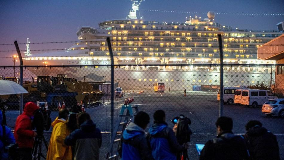Al menos 40 ciudadanos estadounidenses están infectados con coronavirus en crucero en Japón