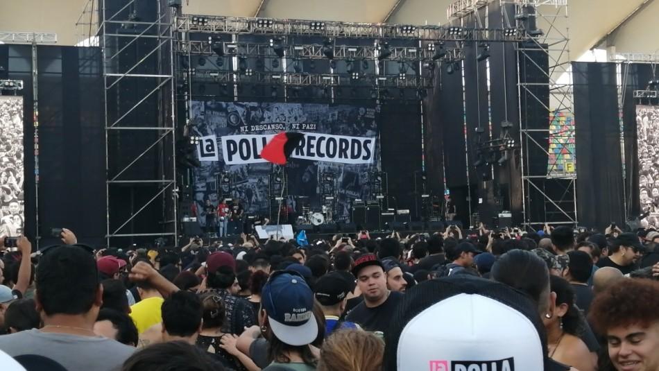 Incidentes obligan a cancelar show de La Polla Records en La Florida