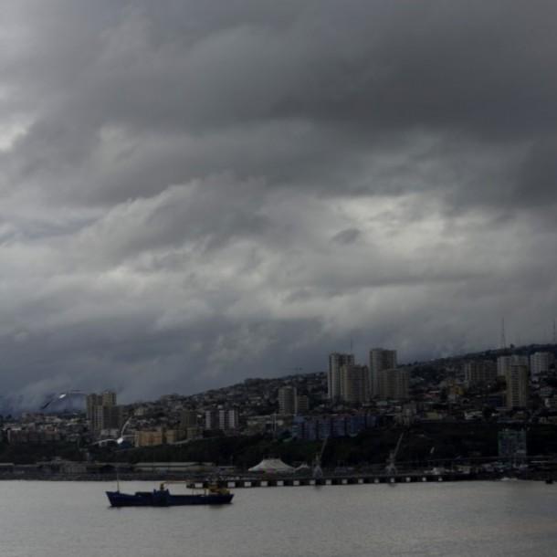 Valparaíso con nubosidad y vientos: Revisa el pronóstico del tiempo