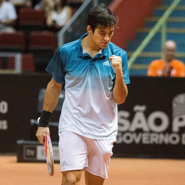 Garin debió luchar para vencer al eslovaco Martin en su debut en el ATP 500 de Río de Janeiro
