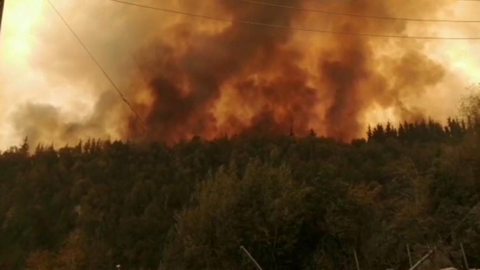Onemi por combate de incendio en Molina: