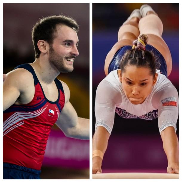 Gimnastas chilenos compiten en Australia por un cupo a los Juegos Olímpicos de Tokio