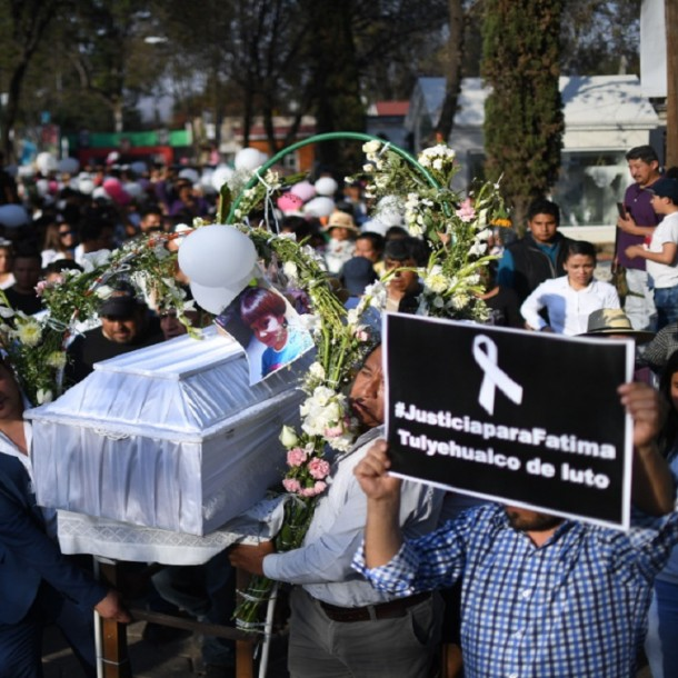 Detienen a los presuntos responsables del feminicidio de la menor Fátima
