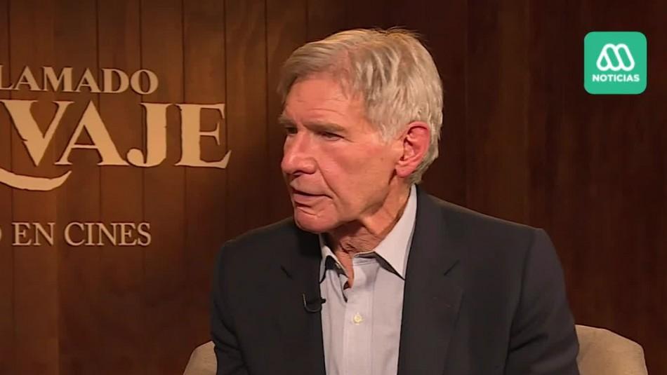 Harrison Ford y película El Llamado Salvaje:
