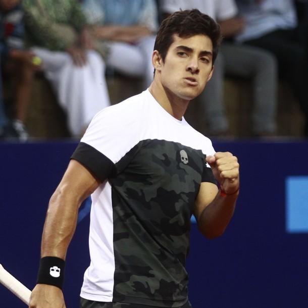 Cristian Garin nuevamente tuvo que remontar para avanzar a semis del ATP 500 de Río de Janeiro