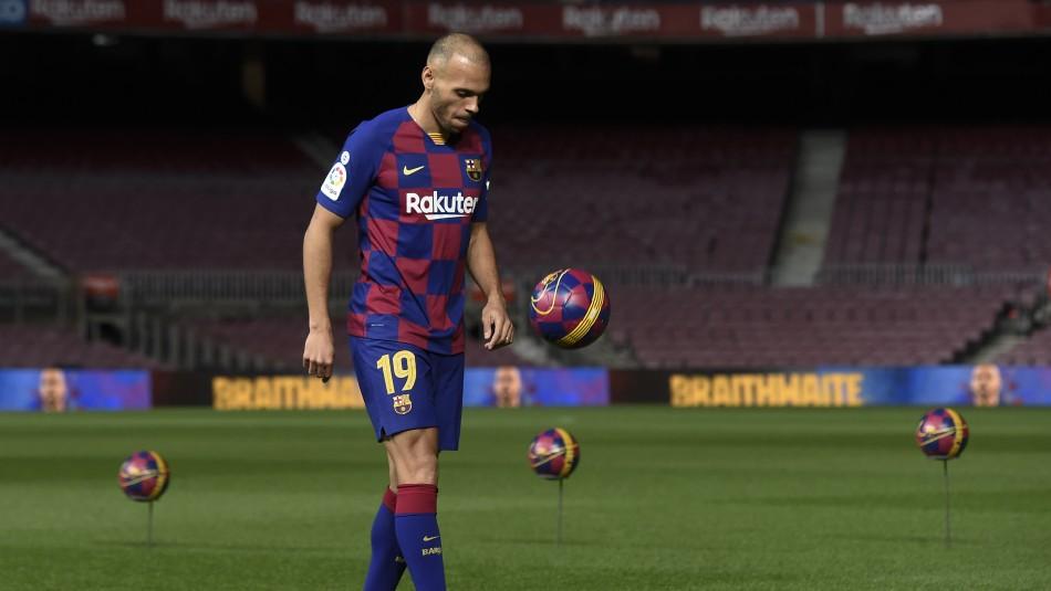 Pasó vergüenza en su presentación: El truco fallido que realizó nuevo refuerzo de Barcelona