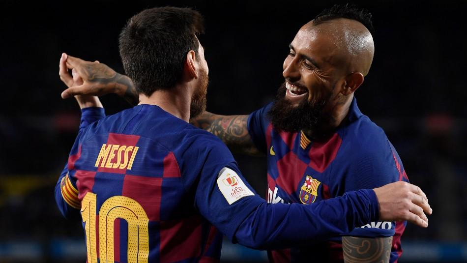 La confesión de Messi: Admitió que uno de sus hijos admira a Arturo Vidal