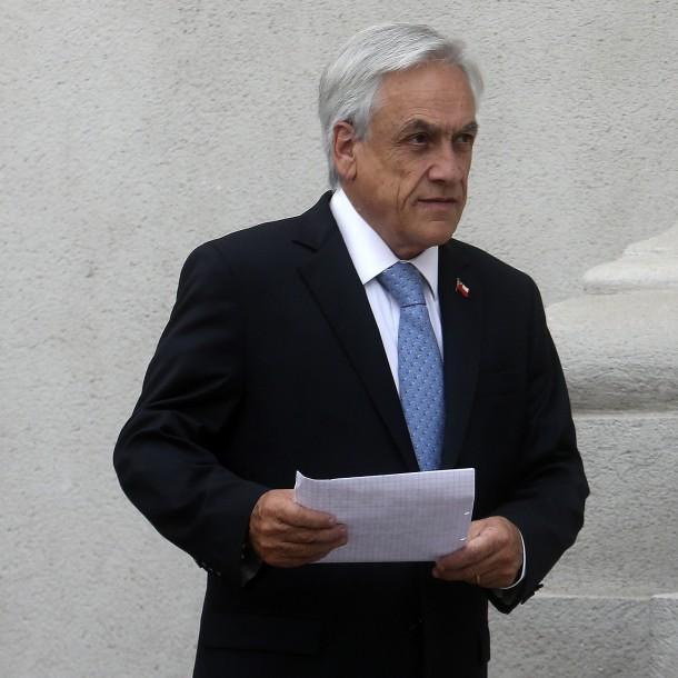 Piñera por incendio en estación Los Quillayes: Llegó la hora de unir nuestras fuerzas contra la violencia