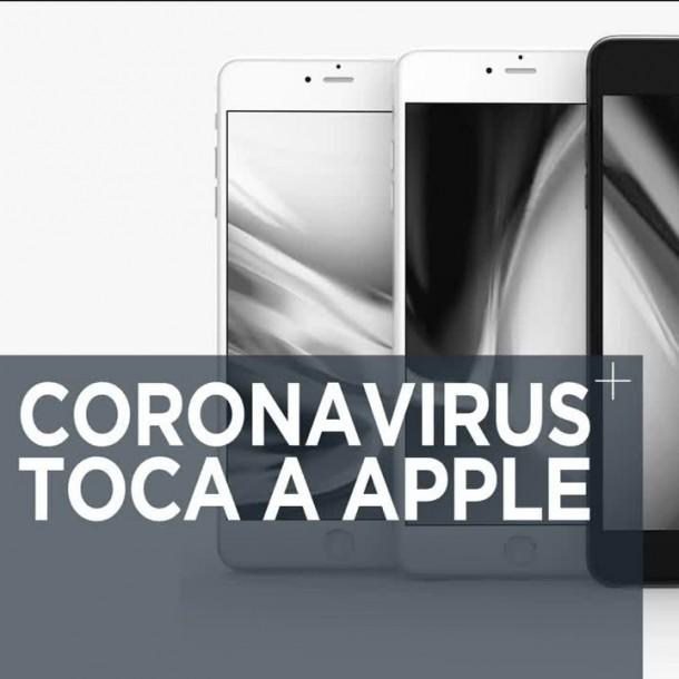 Apple reconoce baja de 50% en su producción debido al coronavirus