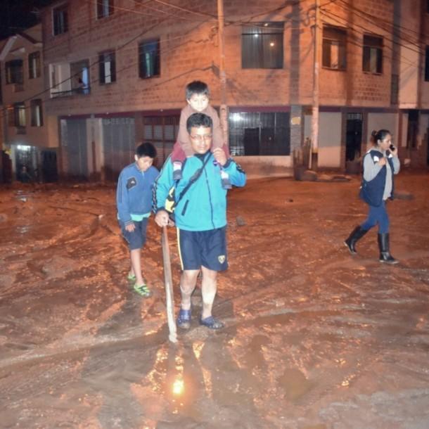 Tres fallecidos en Tacna tras aluvión por fuertes precipitaciones