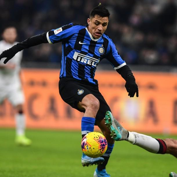 Partido del Inter de Milán de Alexis Sánchez se suspende por brote de coronavirus en Italia