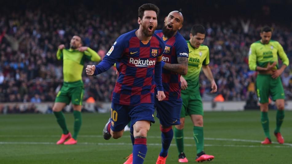 Sigue el partido Barcelona de Arturo Vidal vs. Eibar de Orellana por la Liga de España. ¡GOL!