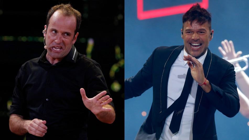 Así fue la imitación de Ricky Martin que hizo Kramer en la antesala de su actuación en Viña 2020