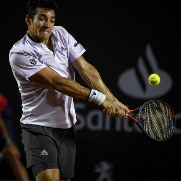 La lluvia suspende la semifinal entre Garin y Coric en el ATP 500 de Río