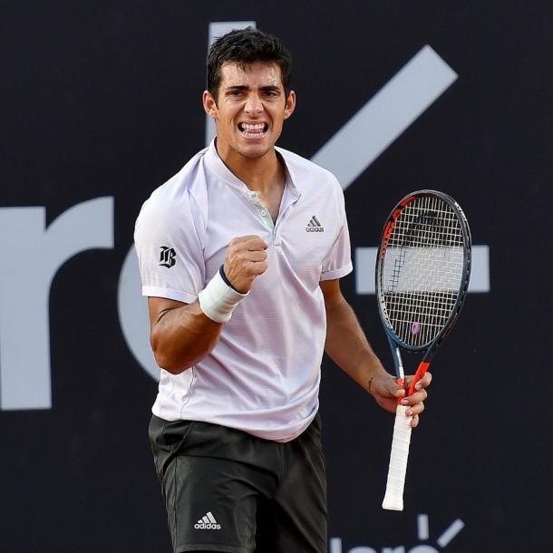 Garin derrotó a Coric y se instaló en la final del ATP de Río de Janeiro