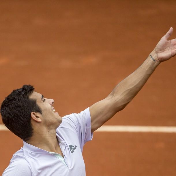 Sigue a Cristian Garin que juega la gran final del ATP 500 de Río ante el 128 del mundo ¡Segundo sets!