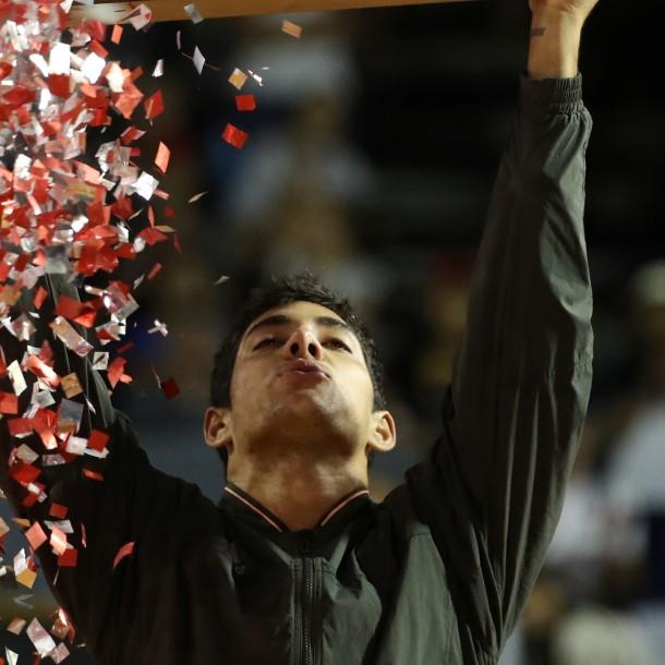 Garin tras su título en Río: