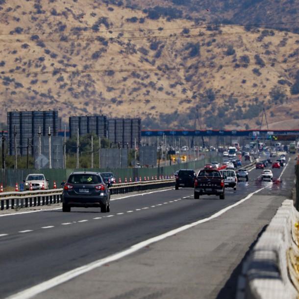 Peaje a $1.000 hasta las 14:00 horas: Plan de contingencia en la Ruta 68 este fin de semana