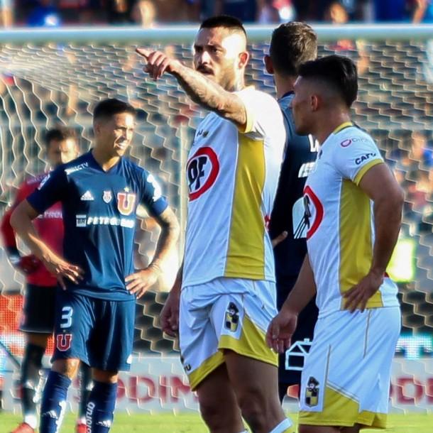 Coquimbo le empata a la U en el Estadio Nacional con gol de Mauricio Pinilla