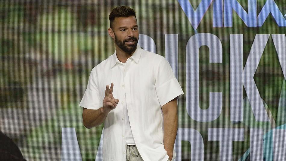 Ricky Martin habló sobre la crisis social: