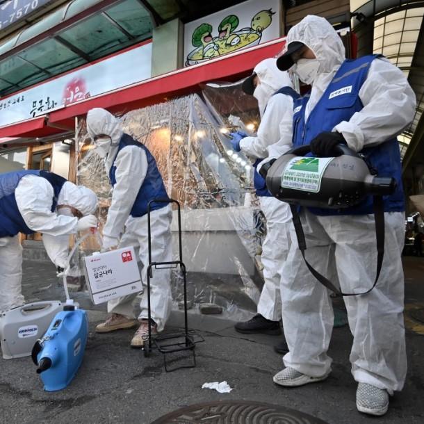 Alerta máxima en Corea del Sur, Irán e Italia por el coronavirus