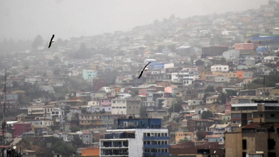 Valparaíso parcialmente nublado: Revisa el pronóstico del tiempo