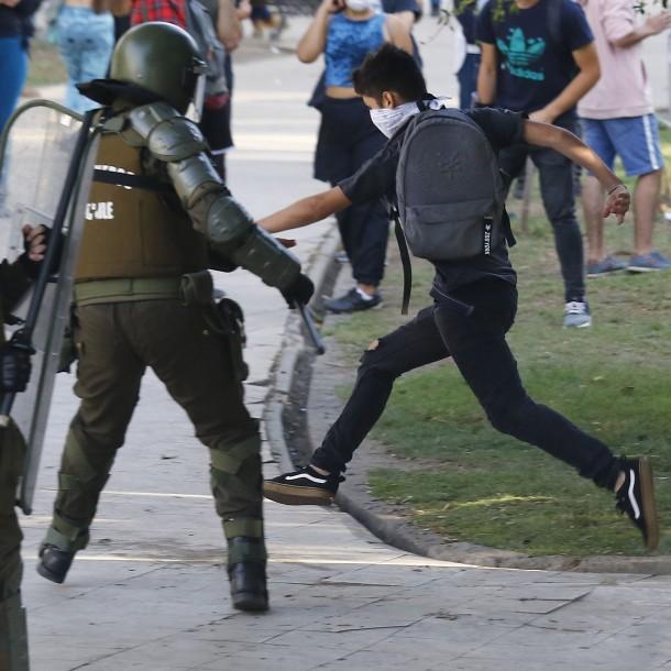 Manifestaciones en Viña del Mar: 31 personas han sido detenidas durante este lunes