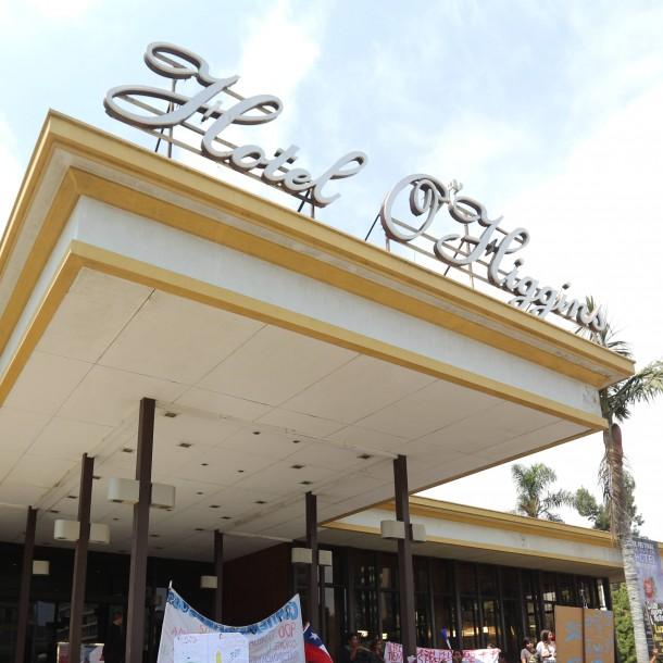 Hotel O'Higgins suspende indefinidamente su funcionamiento tras incidentes en el recinto