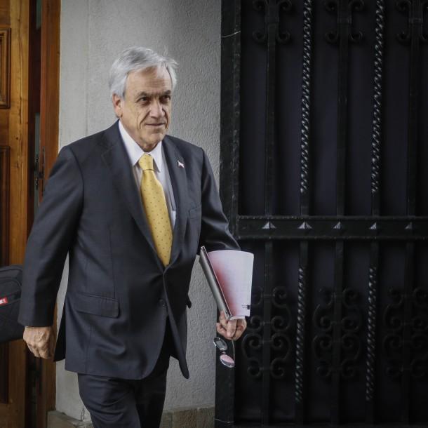 Piñera regresa de sus vacaciones y encabeza consejo de Gabinete con miras a marzo