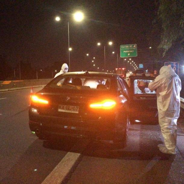 Coronel (r) del Ejército resultó herido tras frustrar el robo de su vehículo en encerrona