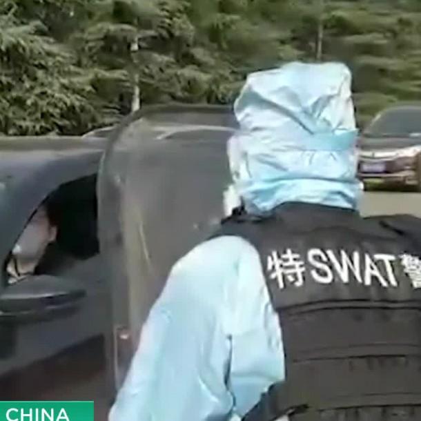 El violento procedimiento en caso de negarse a un control de coronavirus en China