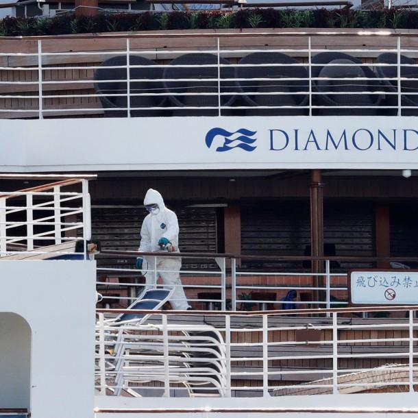 Coronavirus: Muere cuarto paciente del grupo en cuarentena del crucero Diamond Princess