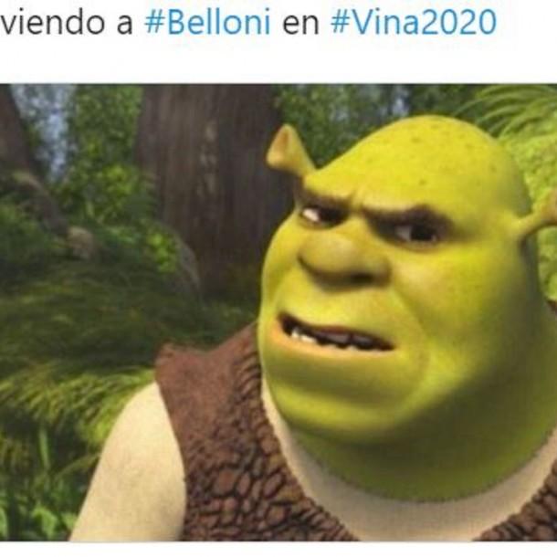 Los mejores memes que dejó la actuación de Ernesto Belloni en Viña 2020