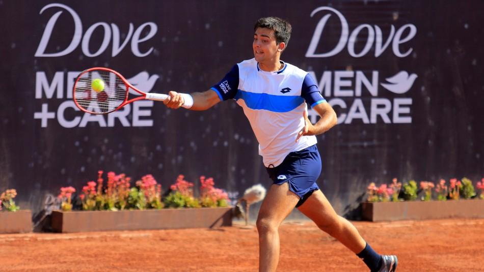 Mala jornada para chilenos en el ATP 250 de Santiago: Barrios y Tabilo fueron eliminados