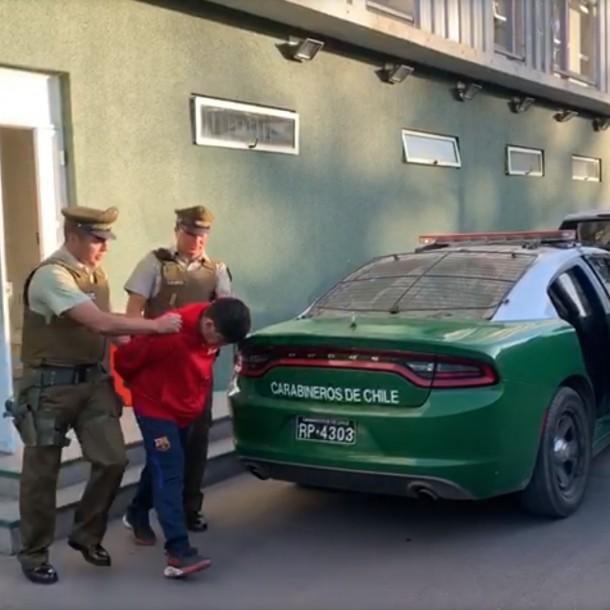 Detienen a sujeto que efectuó disparos contra subcomisaría en comuna de Padre Hurtado